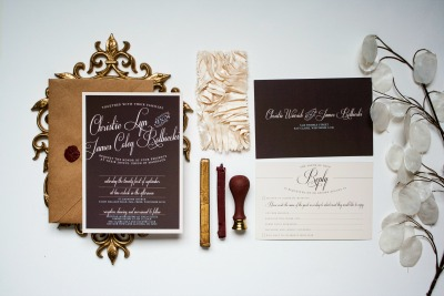 successful business wedding invitation