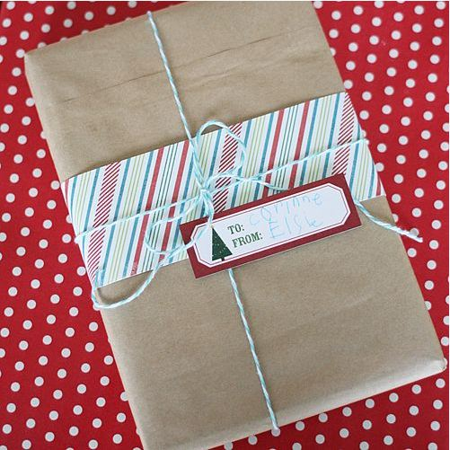 layering giftwrap
