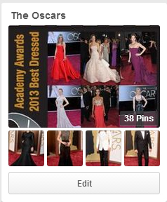 oscars pinterest board