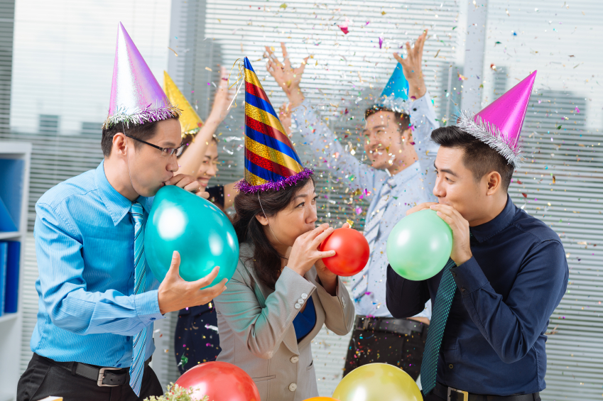 business anniversary party ideas