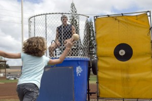 outdoor marketing dunk tank