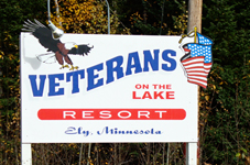 veterans on the lake logo