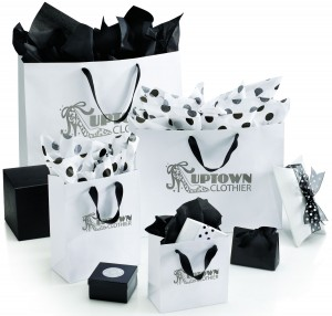 gift bags with logo