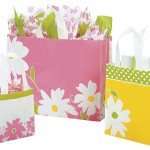 dashing daisies yellow gift bags